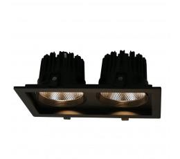 Встраиваемый светодиодный светильник A7018PL-2BK Arte Lamp