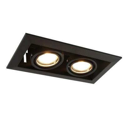 Встраиваемый светильник A5941PL-2BK Arte Lamp