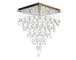 Люстра потолочная хрустальная Flusso H 1.4.50.515 G Arti Lampadari