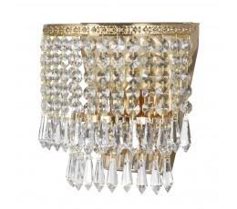 Светильник настенный хрустальный Stella E 2.10.501 G Arti Lampadari