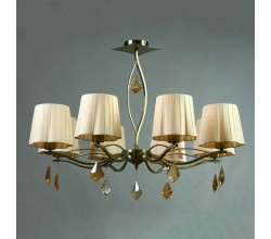 Люстра подвесная BX03203/8 Bronze Cream Brizzi