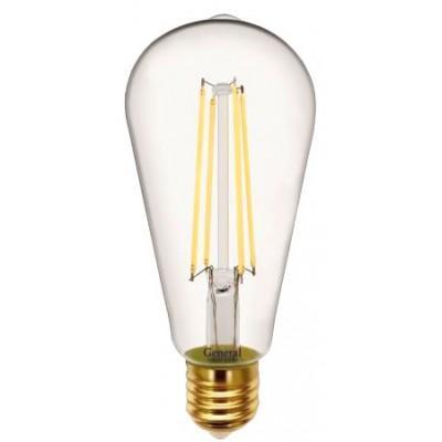 Лампочка 655305 ST64S-10-E27-4500 General