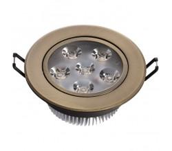 Встраиваемый точечный светильник 637013106 MW-Light