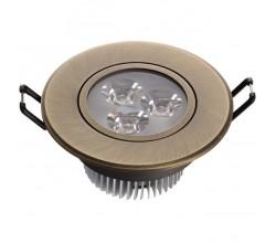 Встраиваемый точечный светильник 637012203 MW-Light
