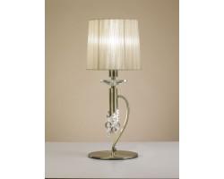 Интерьерная настольная лампа Tiffany Cuero 3888 Mantra