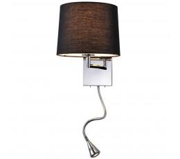 Бра 14102/A LED black Newport