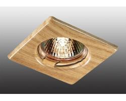 Точечный светильник Wood 369716 Novotech