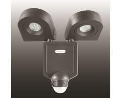 Декоративный светодиодный уличный настенный светильник с инфракрасным датчиком движения 357221 Novotech