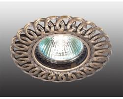 Точечный светильник Flower 369878 Novotech