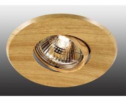 Точечный светильник Wood 369709 Novotech