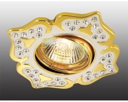 Точечный светильник Flower 369825 Novotech