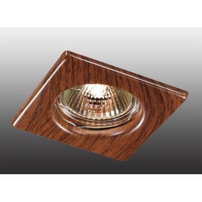 Точечный светильник Wood 369717 Novotech