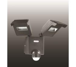 Декоративный светодиодный уличный настенный светильник с инфракрасным датчиком движения 357220 Novotech