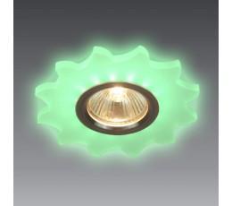 Встраиваемый точечный светильник 46-004-GN Snowlight