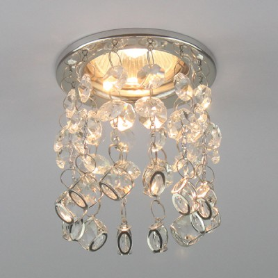 Встраиваемый точечный светильник 46-002-CR Snowlight
