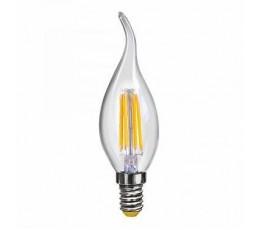 Лампочка светодиодная E14 6W 2800K 7017 Voltega