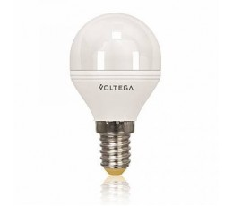 Лампочка светодиодная E14 6W 4000K 5494 Voltega