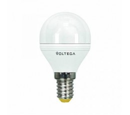 Лампочка светодиодная E14 6W 2800K 5493 Voltega