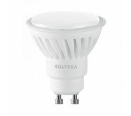 Лампочка светодиодная GU10 10W 2800K 7072 Voltega